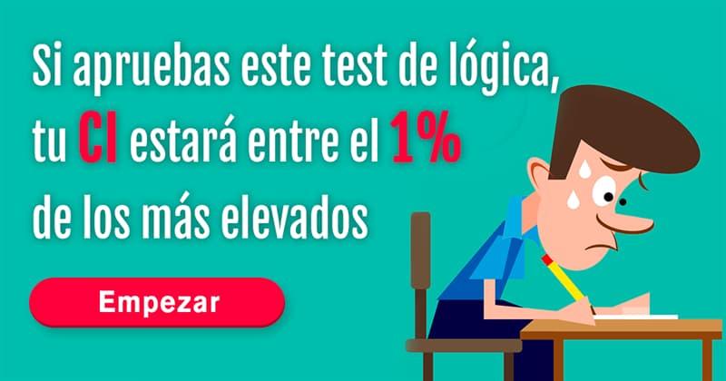 Сiencia Quiz Test: Si apruebas este test de lógica, tu CI estará entre el 1% de los más elevados