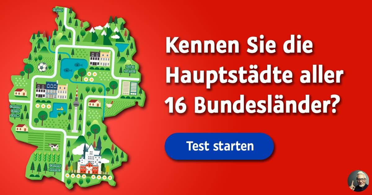 Bundesland Quiz