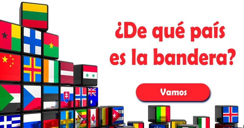 Geografía Quiz Test: ¿De qué país es la bandera?