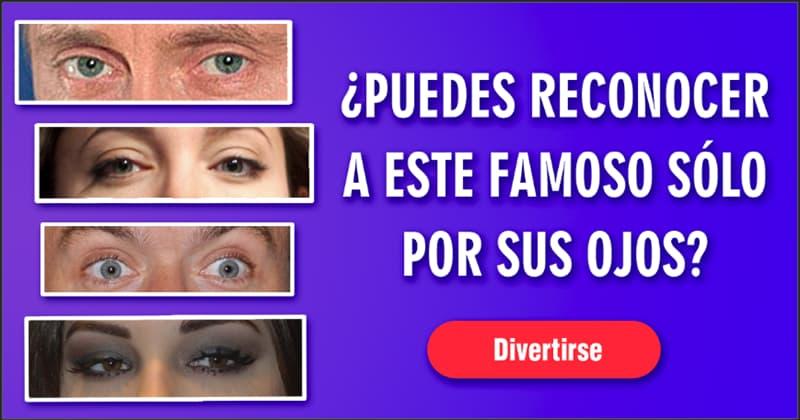 Películas y TV Quiz Test: ¿Puedes reconocer a este famoso sólo por sus ojos?