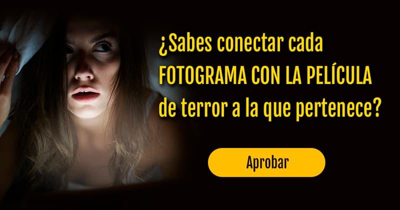 Películas y TV Quiz Test: ¿Sabes conectar cada fotograma con la película de terror a la que pertenece?