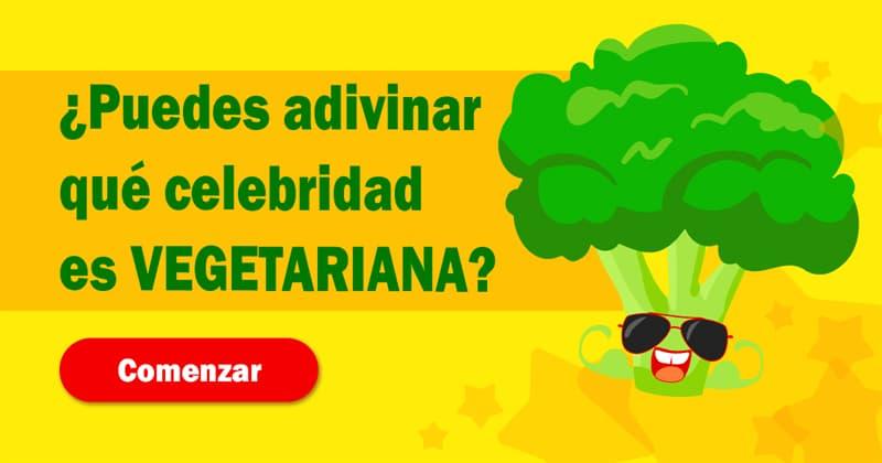 Sociedad Quiz Test: ¿Puedes adivinar qué celebridad es vegetariana?