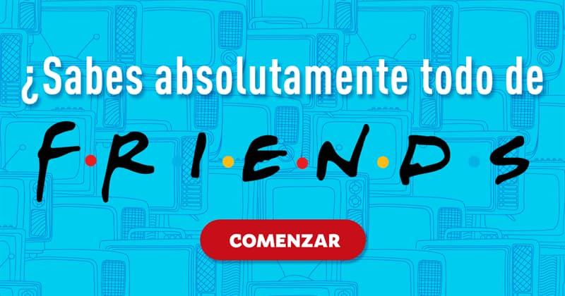 Películas y TV Quiz Test: ¿Sabes absolutamente todo de Friends?