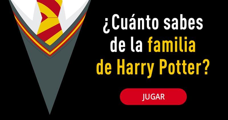 Películas y TV Quiz Test: ¿Cuánto sabes de la familia de Harry Potter?
