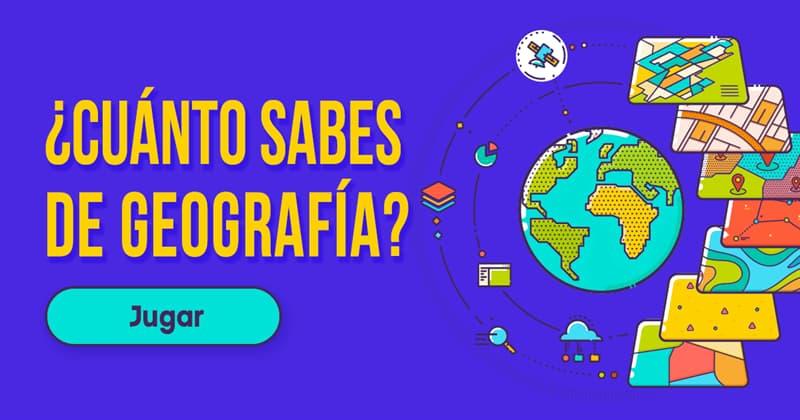 Geografía Quiz Test: ¿Cuánto sabes de geografía?