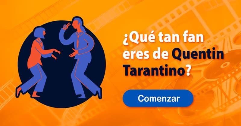 Películas y TV Quiz Test: ¿Qué tan fan eres de Quentin Tarantino?