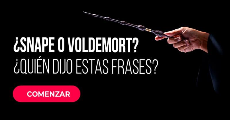 Películas y TV Quiz Test: ¿Snape o Voldemort? ¿Quién dijo estas frases?