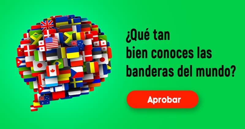 Geografía Quiz Test: ¿Qué tan bien conoces las banderas del mundo?