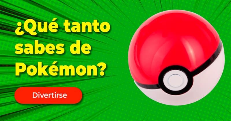 Películas y TV Quiz Test: ¿Qué tanto sabes de Pokémon?