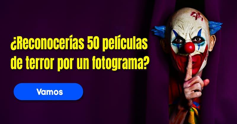 Películas y TV Quiz Test: ¿Reconocerías 50 películas de terror por un fotograma?