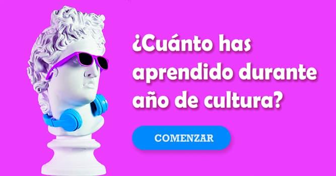 Cultura Quiz Test: ¿Cuánto has aprendido durante año de cultura?