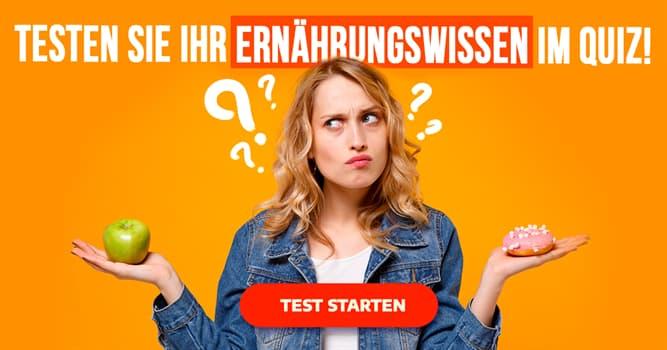 Gesundheit Quiz-Test: Quiz: Die Ernährungsmythen
