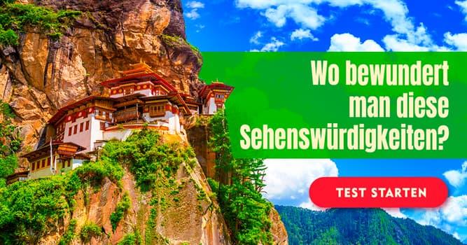 Kultur Quiz-Test: Welche Sehenswürdigkeit gehört zu welchem Land?