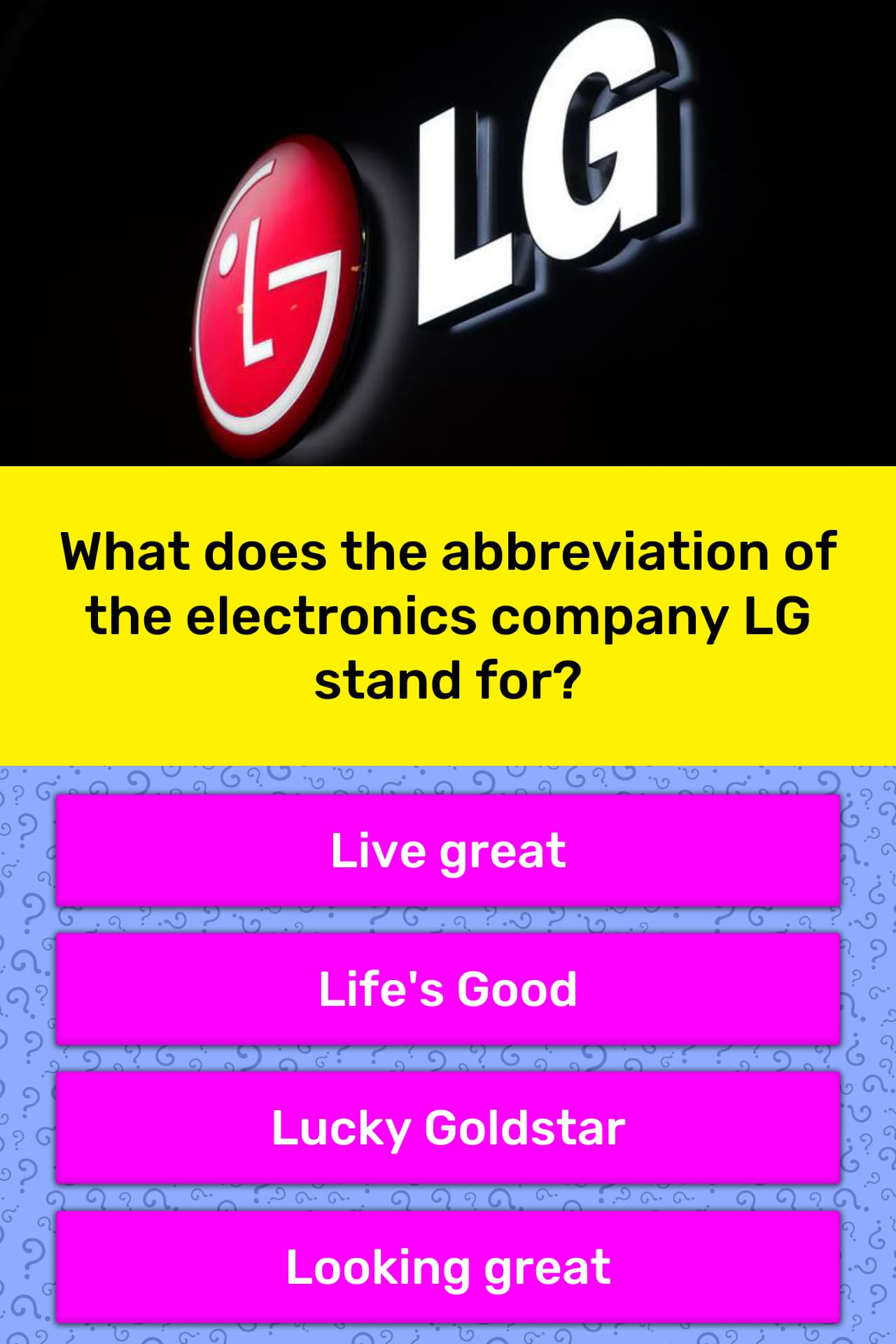 What does the abbreviation of the    | Trivia Answers | QuizzClub