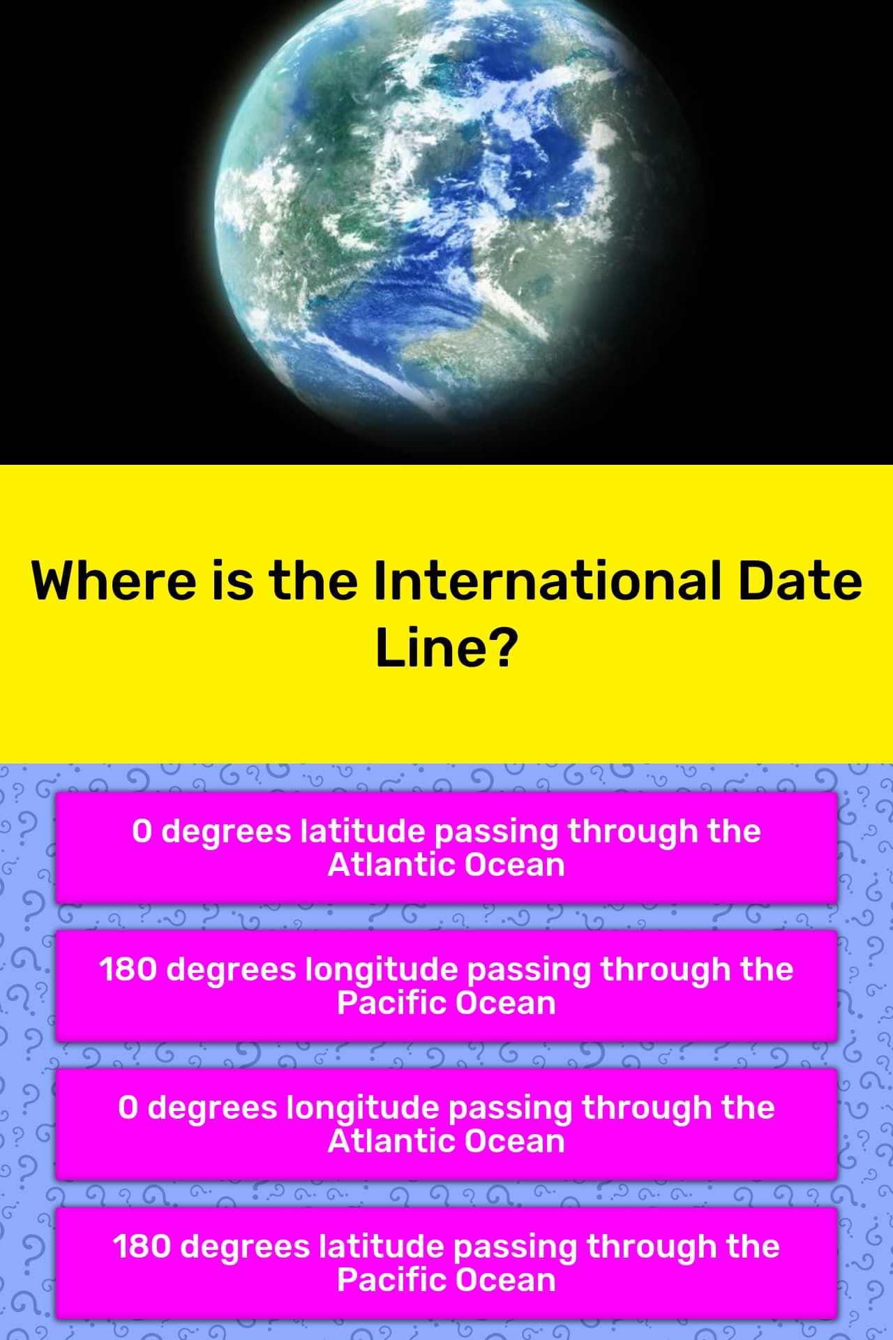 Where Is The International Date Line Trivia Answers Quizzclub