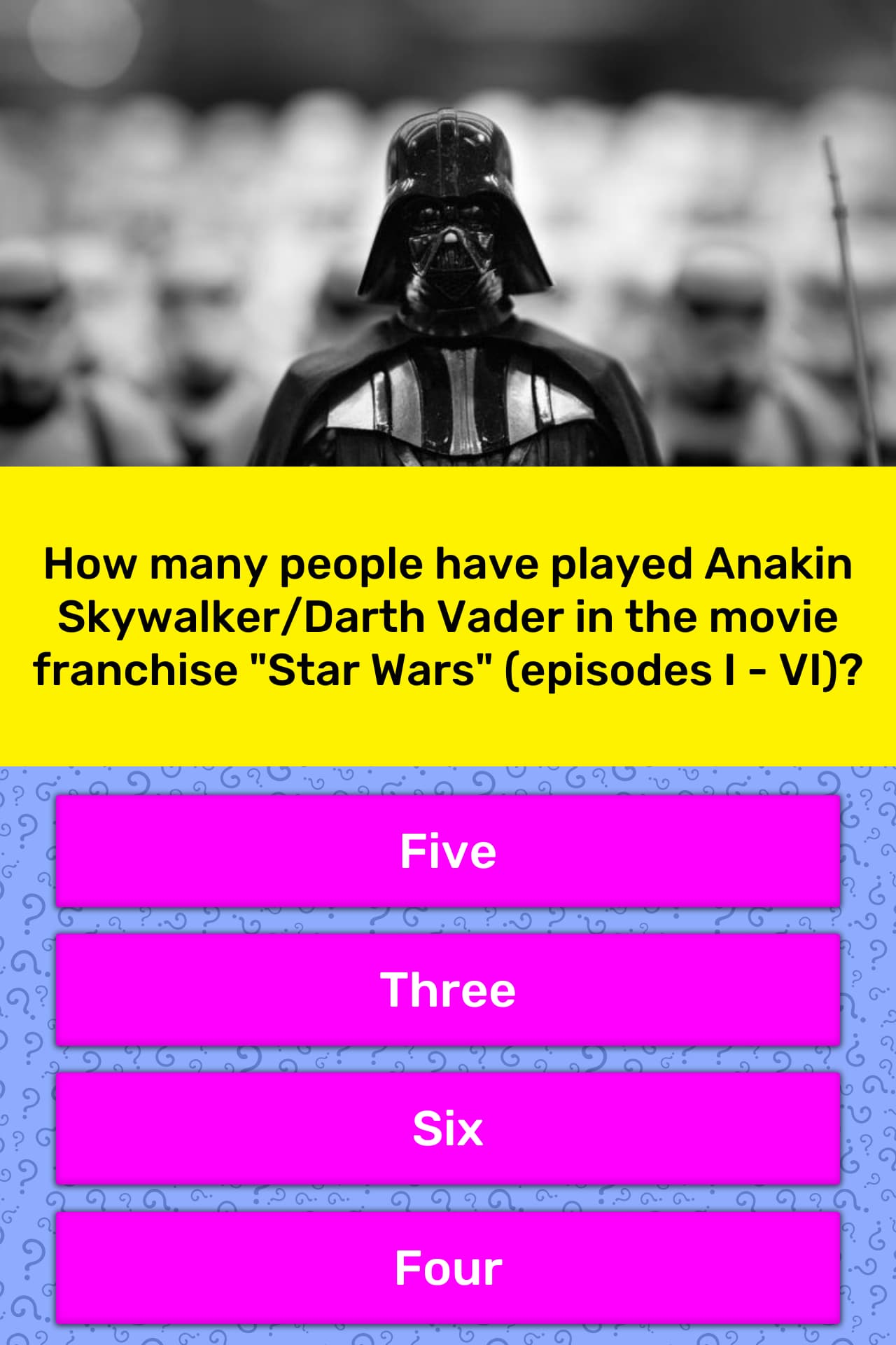 How Many People Have Played Anakin Trivia Answers Quizzclub