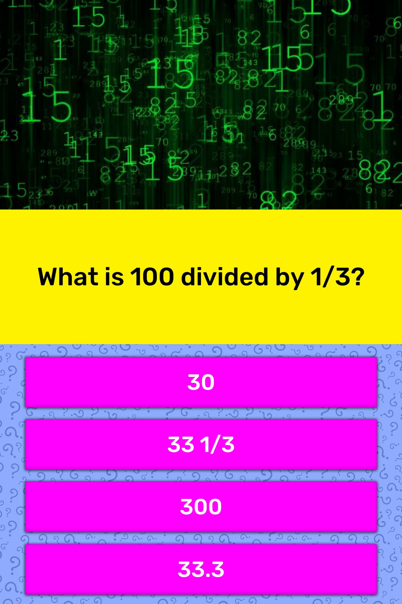 100 divided by 6