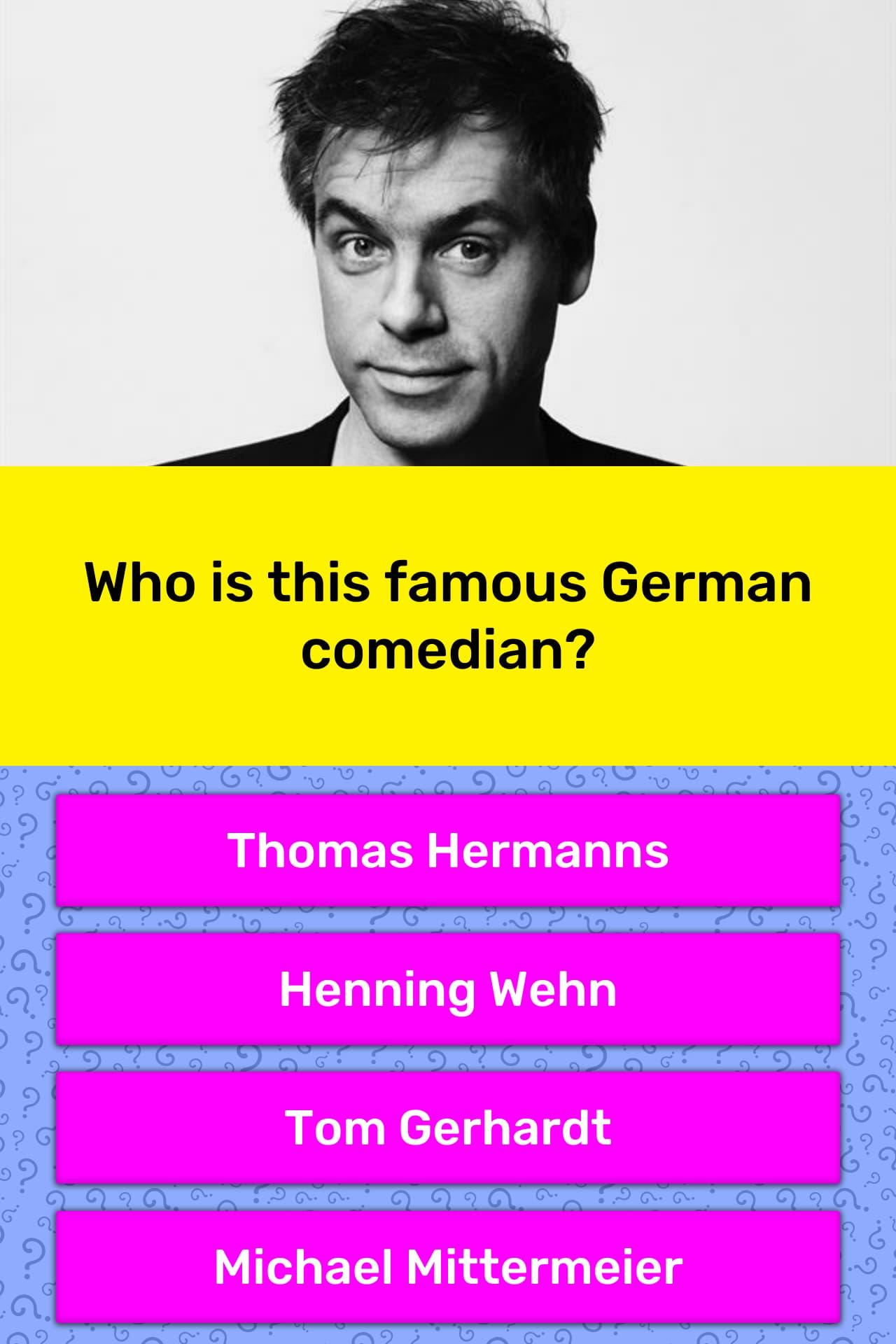 Trivia Quiz Deutsch