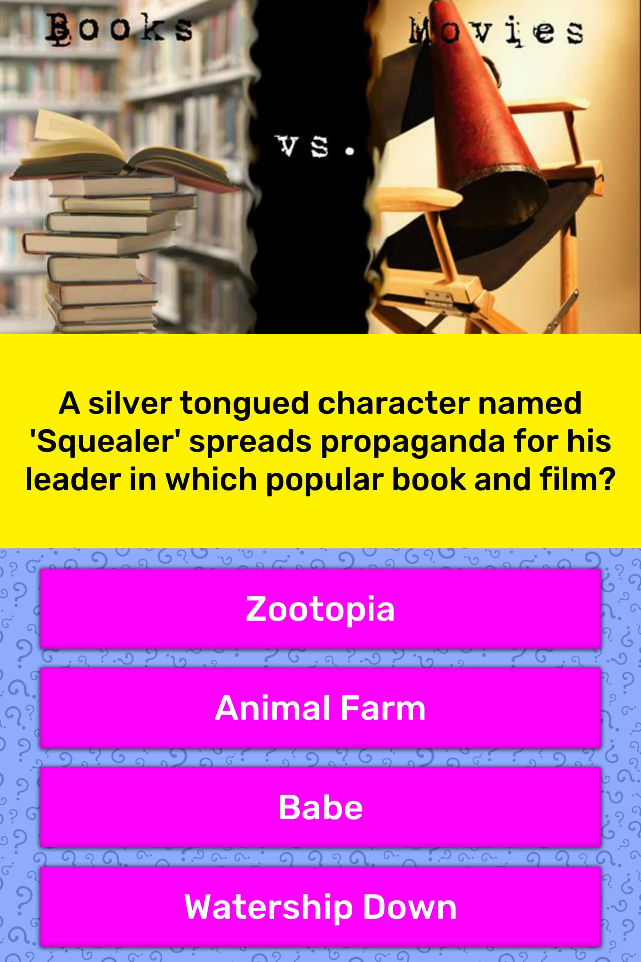 A silver tongued character named    | Trivia Answers | QuizzClub