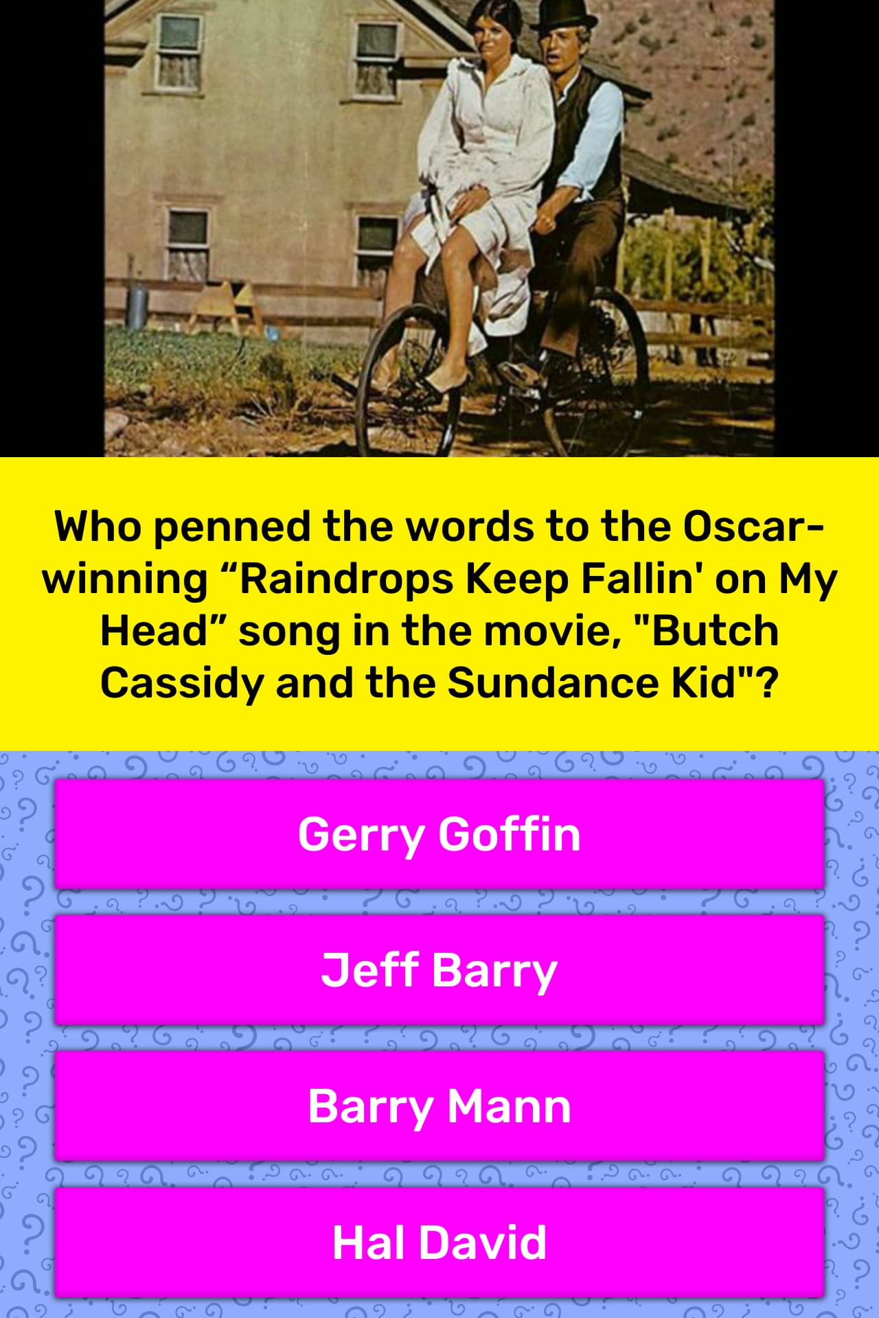 Who penned the words to the    | Trivia Answers | QuizzClub