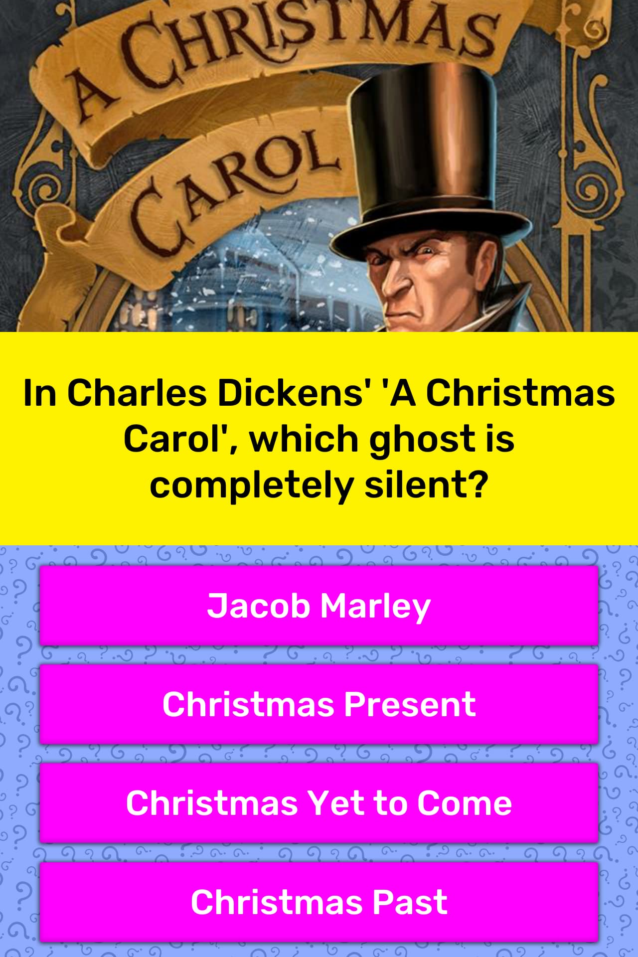 Christmas Carol Trivia.In Charles Dickens A Christmas Trivia Answers Quizzclub