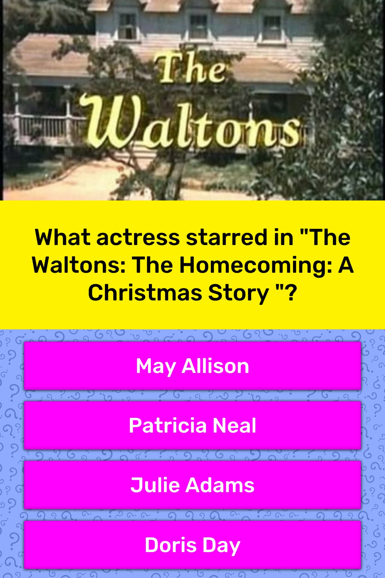 The Homecoming A Christmas Story.What Actress Starred In The Trivia Answers Quizzclub