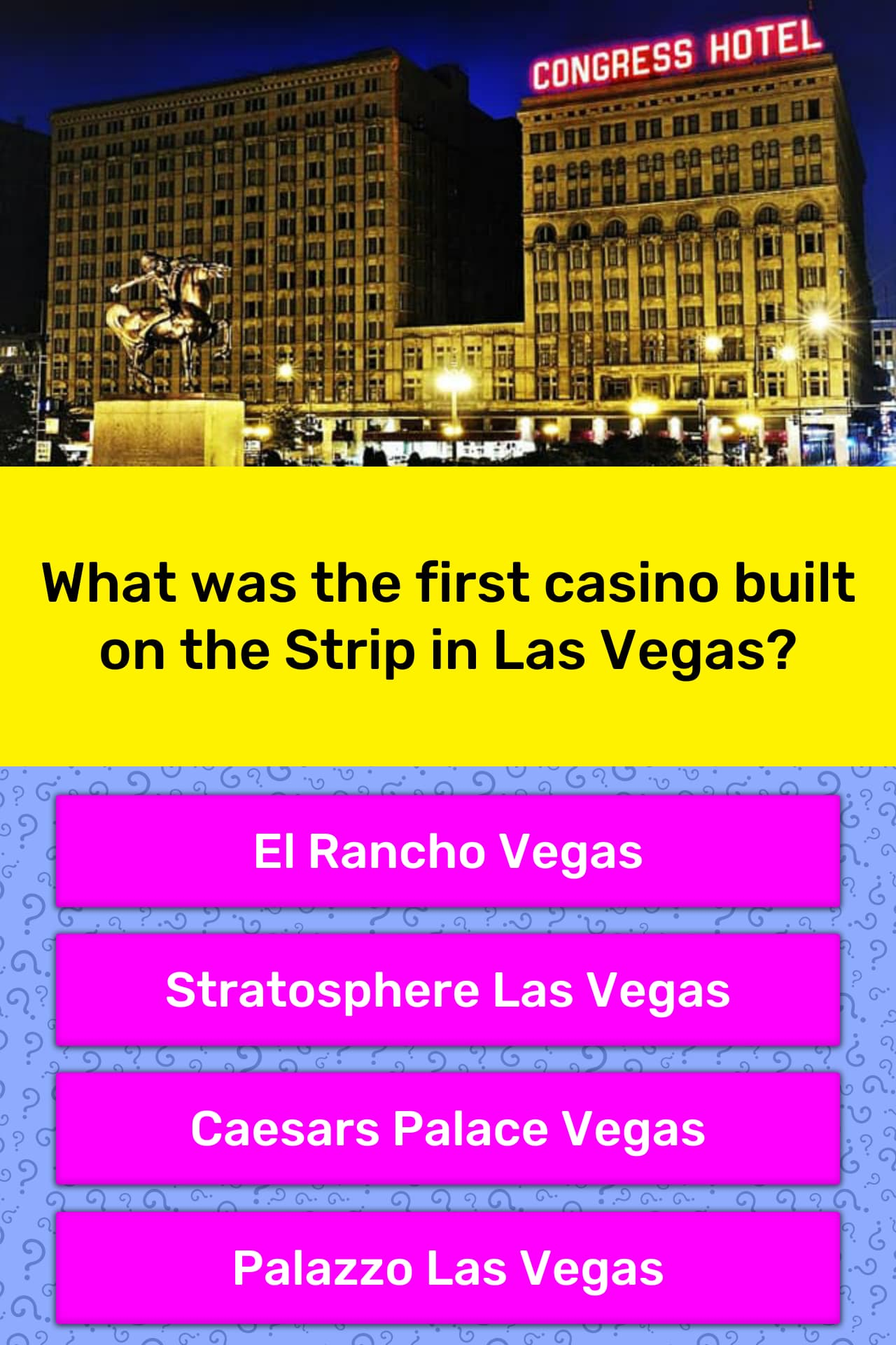When Was The First Casino Built