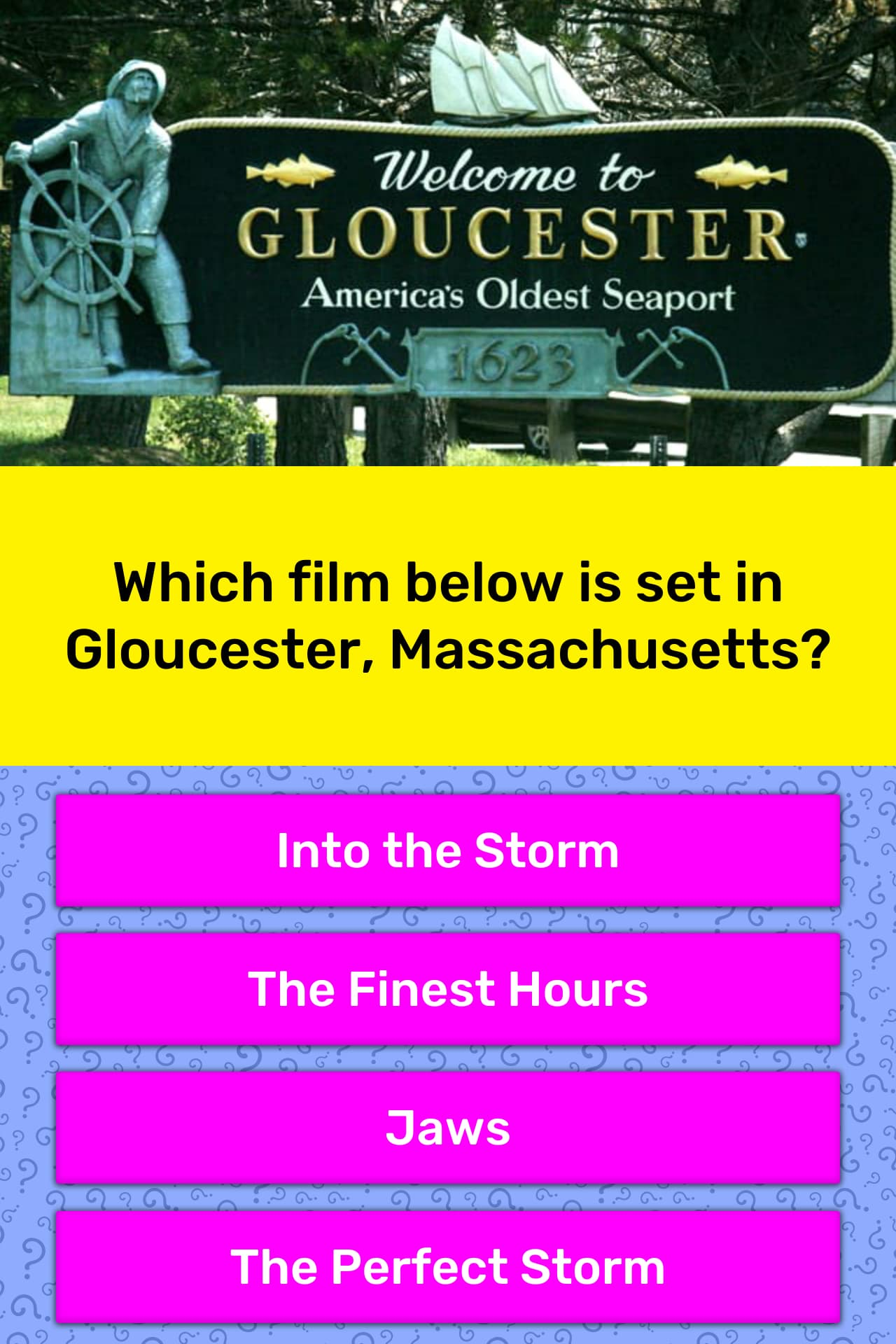 Which film below is set in    | Trivia Answers | QuizzClub