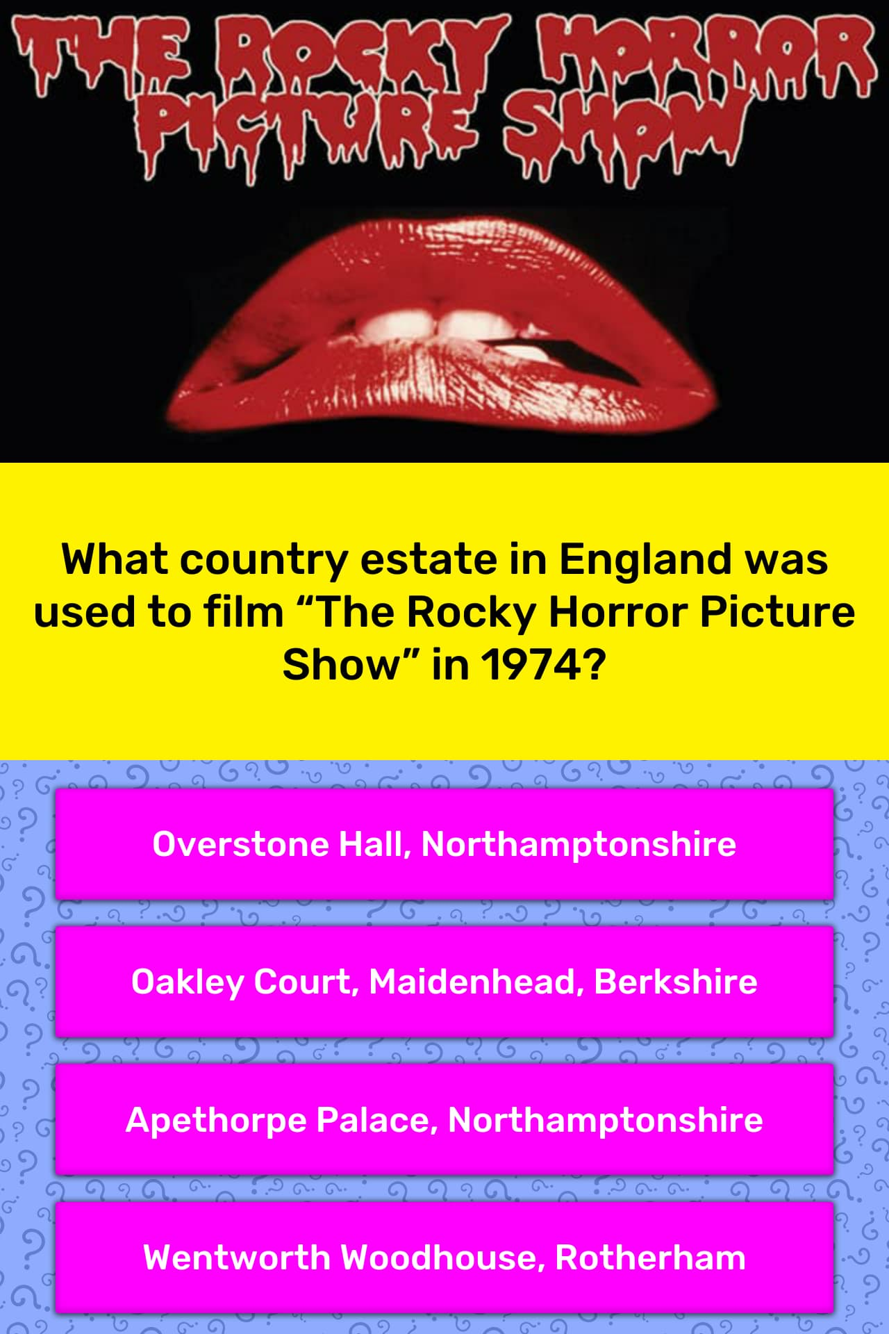 What country estate in England was    | Trivia Answers | QuizzClub