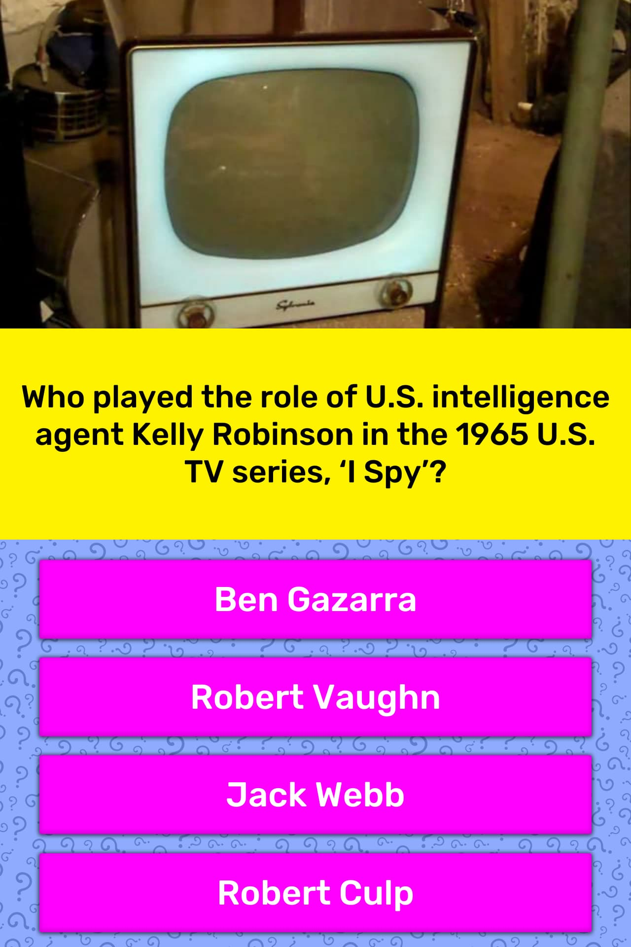 Who played the role of U S     | Trivia Answers | QuizzClub