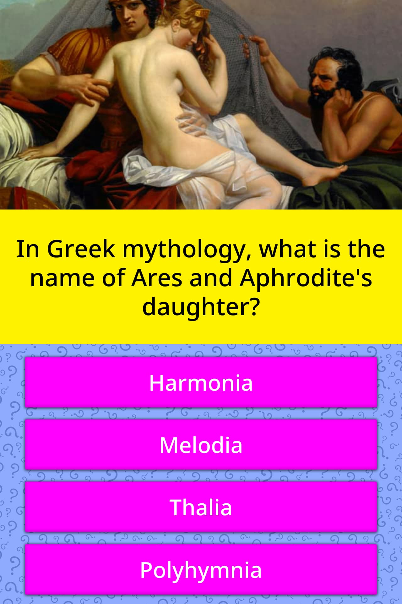 In Greek Mythology What Is The Name Trivia Answers