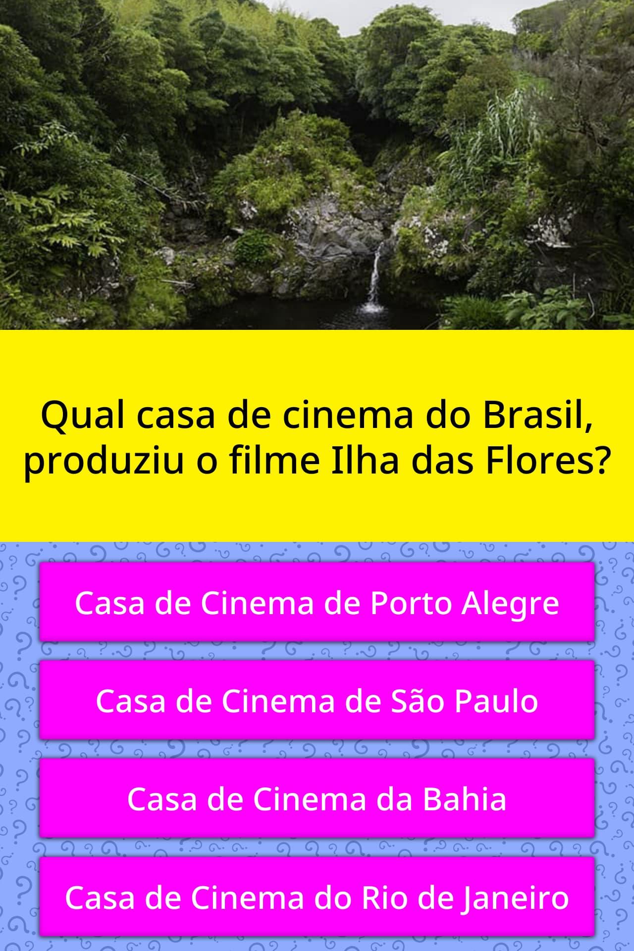 Qual Casa De Cinema Do Brasil Respostas Triviais