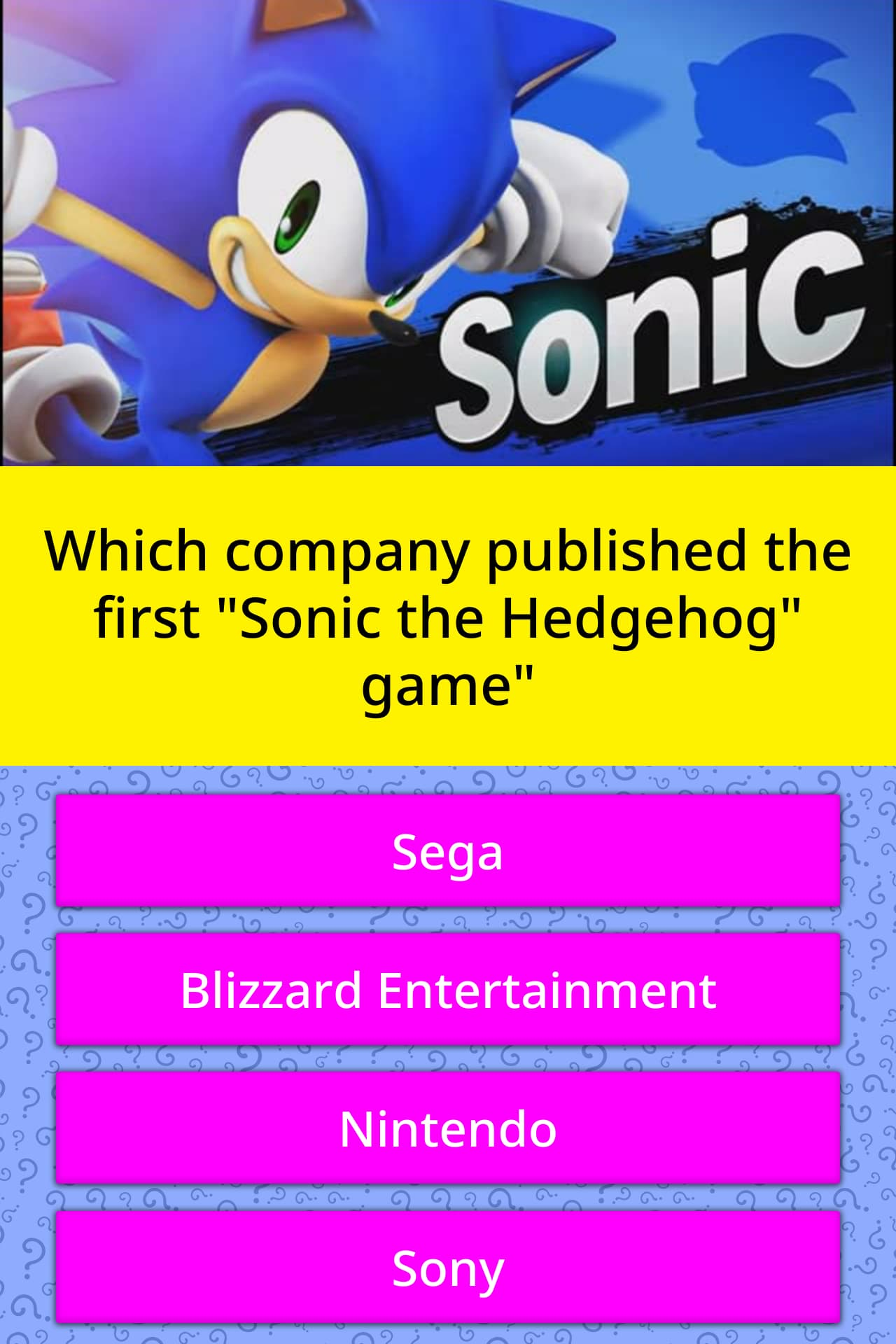 Which Company Published The First Trivia Answers Quizzclub