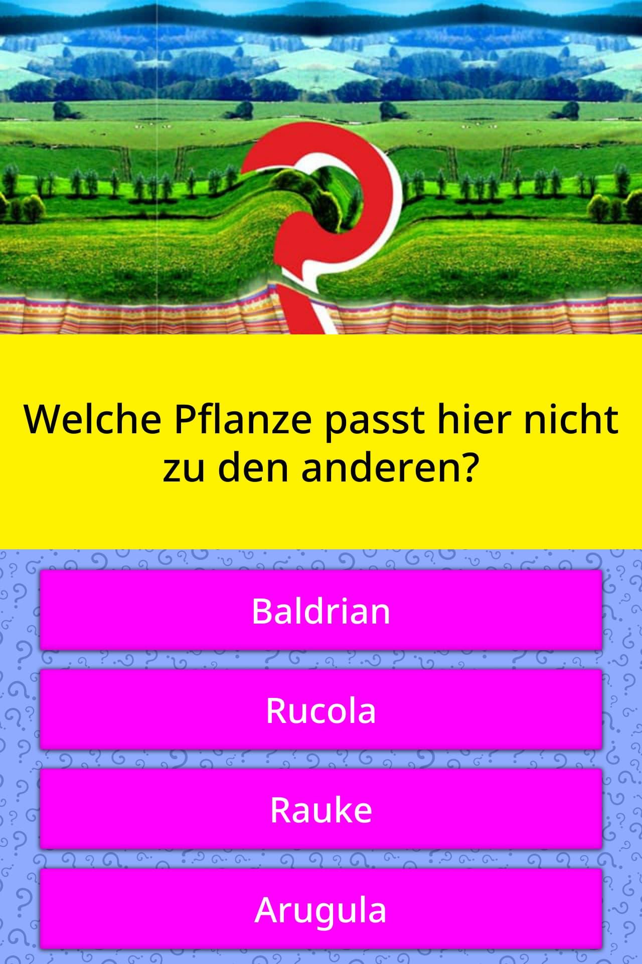 Welche Wandfarbe Passt Zu Kernbuche : welche pflanze passt hier nicht zu quizfragen quizzclub ~ Watch28wear.com Haus und Dekorationen