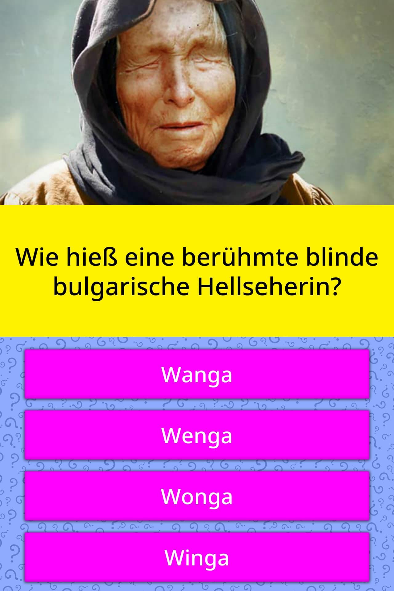 Hellseherin Bulgarien