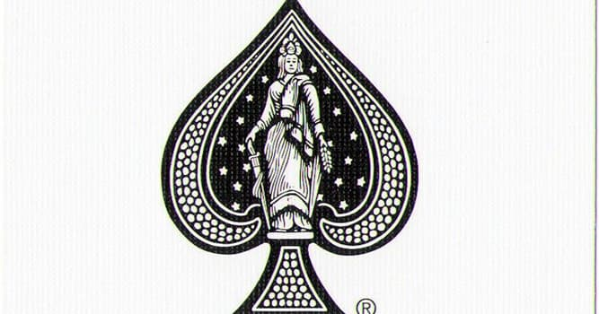 Society Trivia Question: What does the 808 on the Joker and Ace of Spades of a Bicycle deck of cards mean?