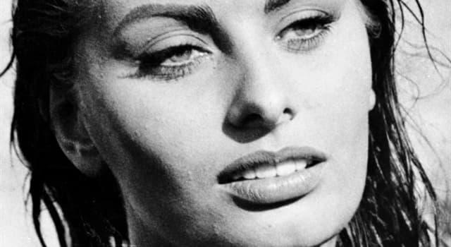 History Trivia Question: What movie did Sophia Loren star opposite John Wayne?