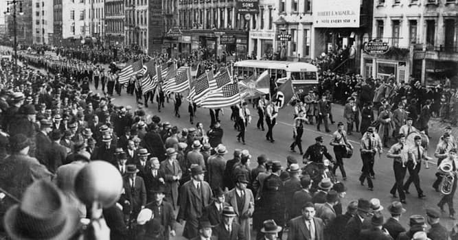 History Trivia Question: What was the German American Bund?