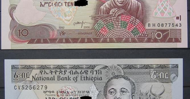 Society Trivia Question: What is the official currency of Ethiopia?