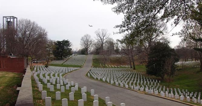 History Trivia Question: Who is buried in Arlington National Cemetery, besides John F. Kennedy?