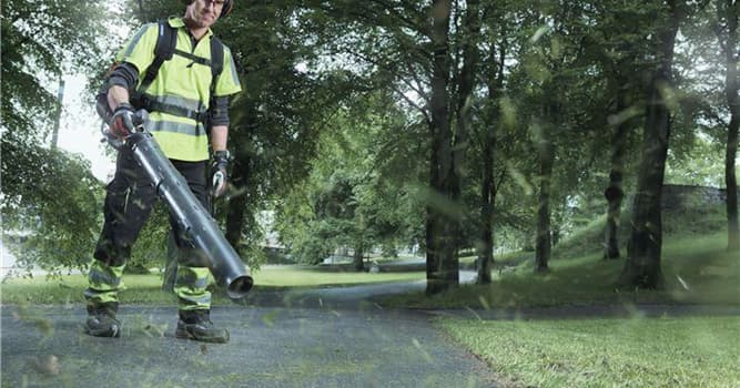 History Trivia Question: Who is given credit for inventing  the leaf blower?