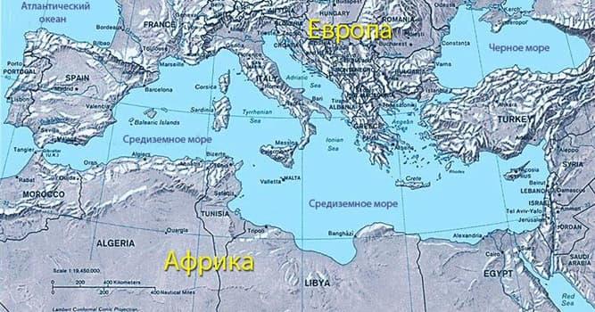 География Вопрос: Средиземное море включает в себя, как составные части, ...... морей.