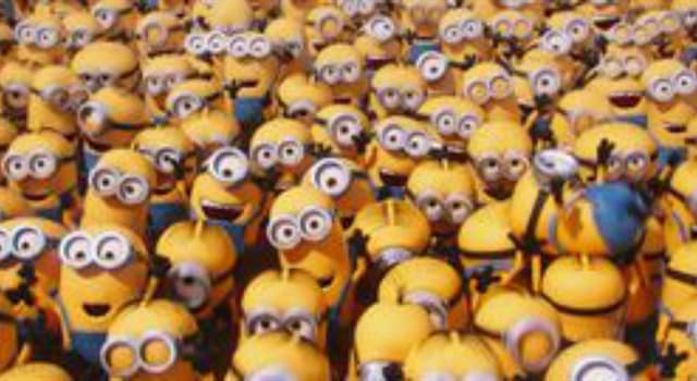 Movies & TV Trivia Question: What is unique about Bob the minion from Despicable Me 2?