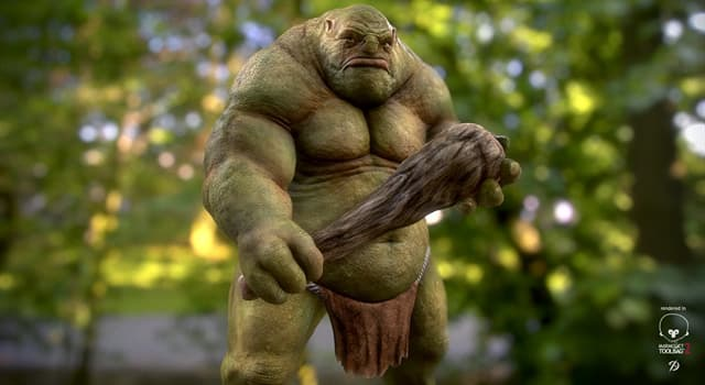 Culture Trivia Question: What country of origin is the word Ogre?