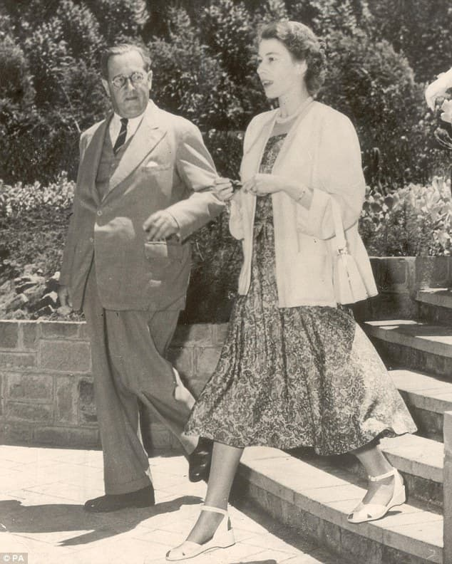 History Trivia Question: Where was Princess Elizabeth when she was told her father, King George VI, had died and she was now Queen?