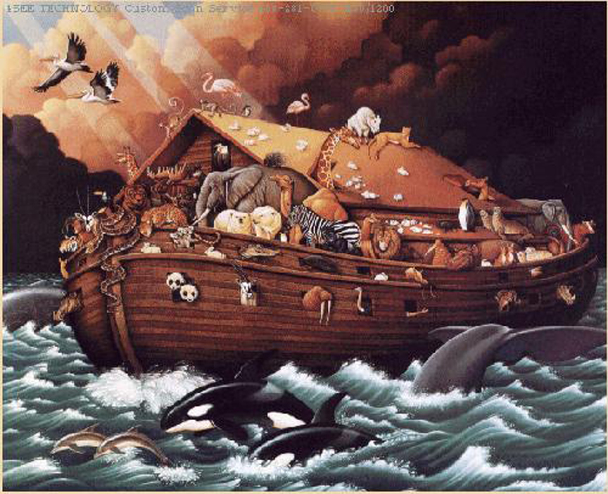 the story of noahs flood as told by author gilgamesh