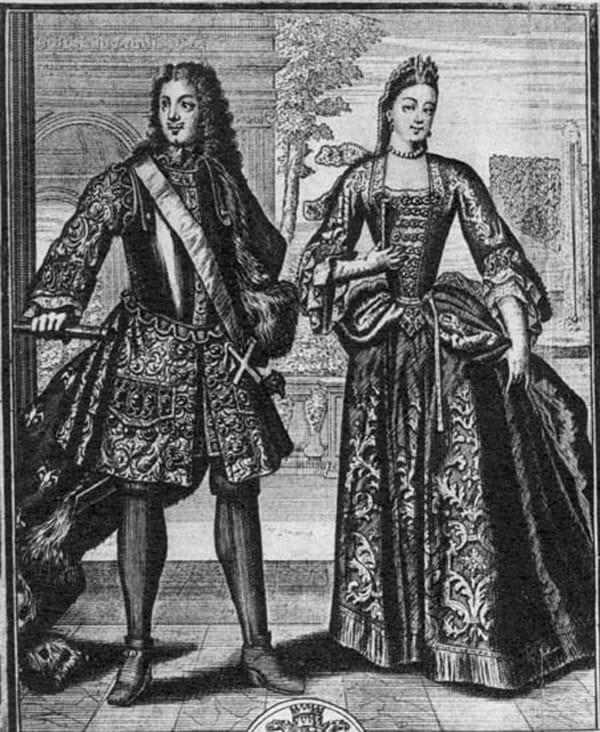 История Вопрос: Сколько лет составляла разница в возрасте между Пётром I и Екатериной Алексеевной?