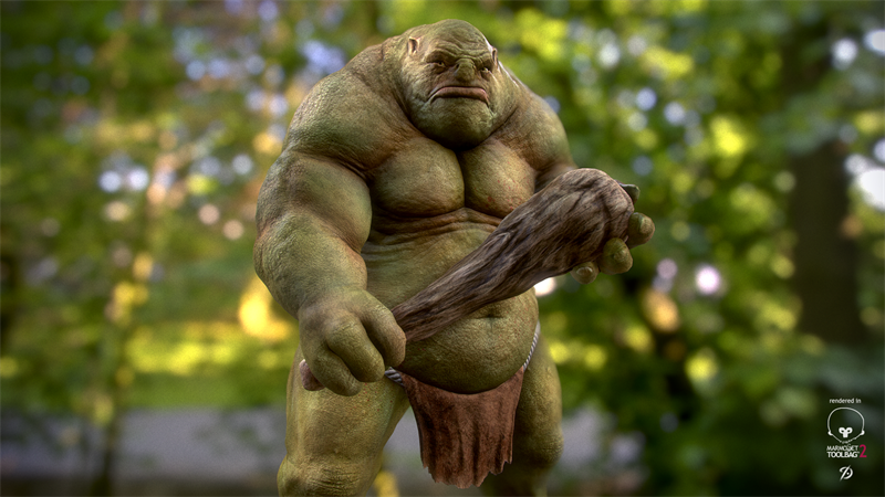What country of origin is the word Ogre?