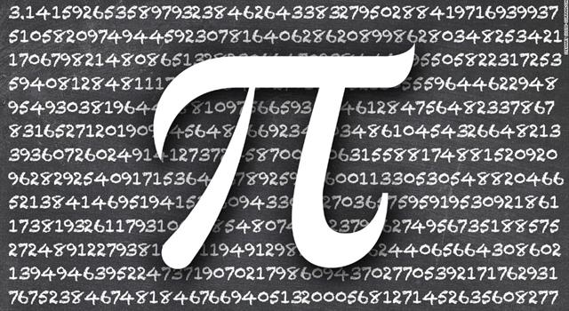 What is the longest number of digits for the calculation of pi?