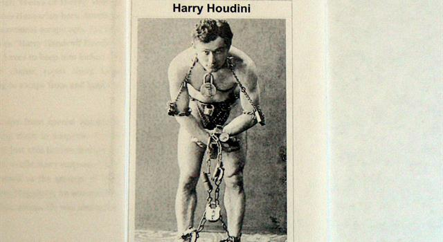 Culture Trivia Question: Besides being known as the worlds greatest escape artist, what other feat is Harry Houdini credited with?